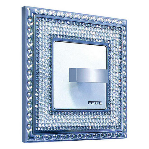 FEDE - Interruptor rotativo-FEDE-CRYSTAL DE LUXE ART COLLECTION
