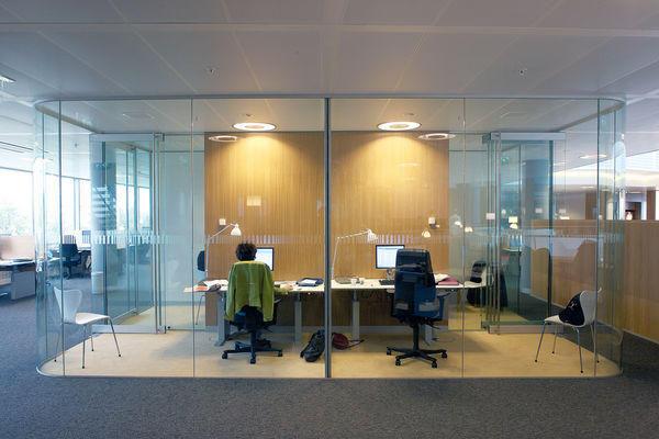 GLASSOLUTIONS France - Tabique de despacho-GLASSOLUTIONS France-CLIP IN