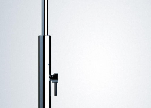INOXSTYLE - Ducha de exterior-INOXSTYLE-Aria Cylinder ML