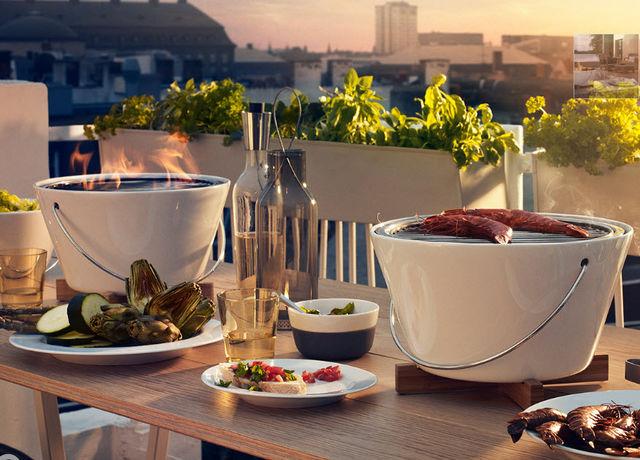 EVA SOLO - Parrilla-EVA SOLO-Grill de table à charbon