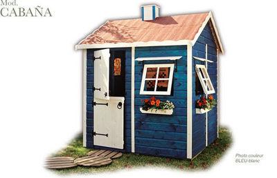 CABANES GREEN HOUSE - Casa de jardín niño-CABANES GREEN HOUSE-CABAÑA