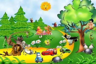 ITALCASADECOR - Adhesivo decorativo para niño-ITALCASADECOR-photomurales