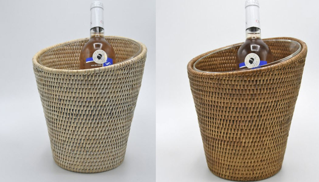ROTIN ET OSIER Secchiello per champagne Raffreddare le bevande Accessori Tavola  |