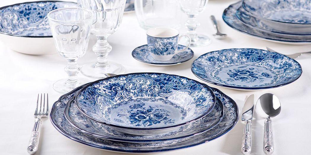 Arcucci Servizio da tavola Servizi di piatti Stoviglie  |