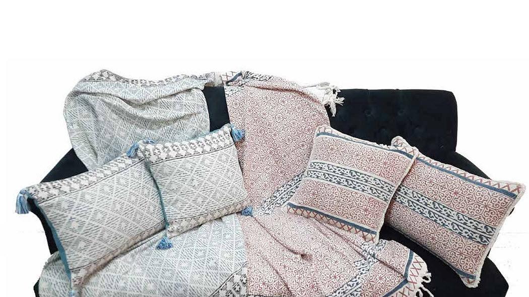 Wax Design Cuscino quadrato Cuscini Guanciali Federe Biancheria  |