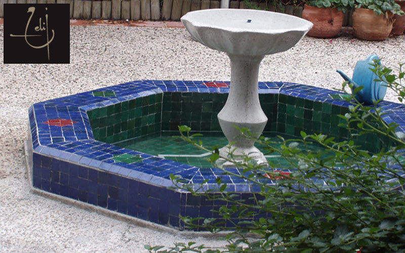 Atelier Zelij Vasca da giardino Varie Portali e Cancelli Giardino Tettoie Cancelli... Giardino-Piscina | Esotico