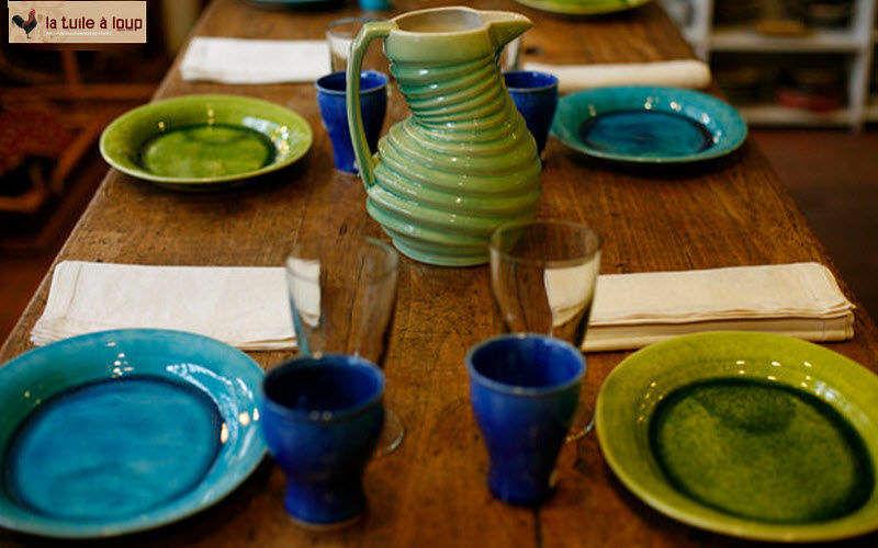 La Tuile A Loup Servizio da tavola Servizi di piatti Stoviglie Sala da pranzo | Charme