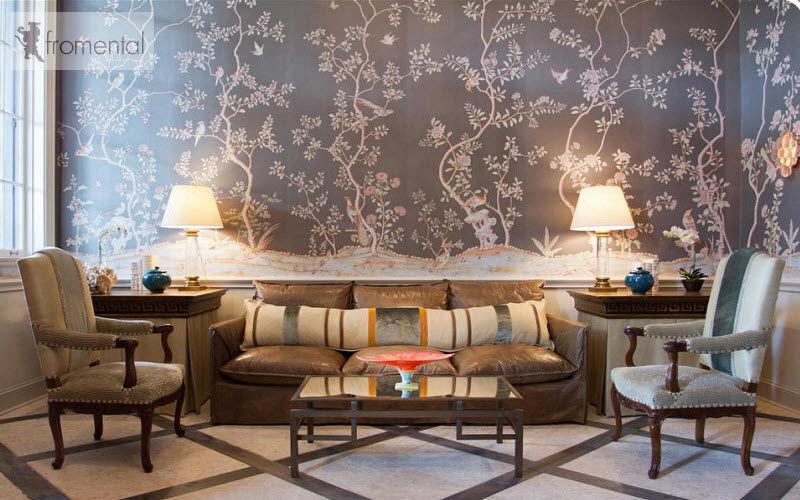 Fromental Tessuto da parati Tessuti per pareti Pareti & Soffitti Salotto-Bar | Classico