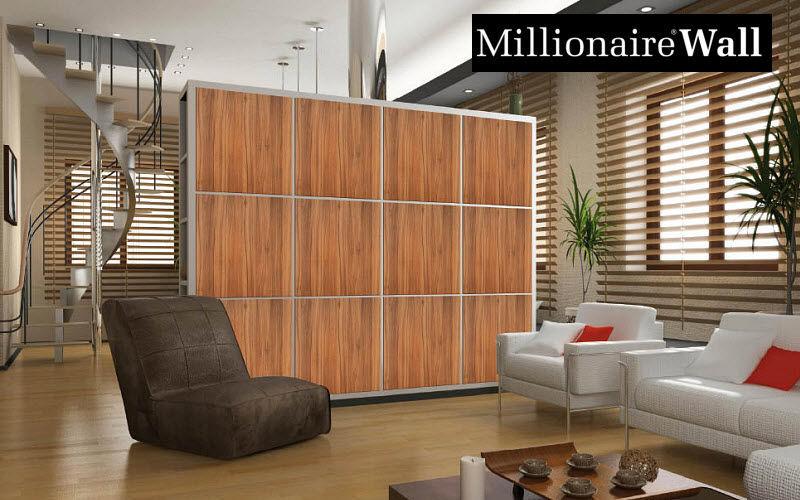 MILLIONAIRE WALL Parete divisoria in tessuto Tende Tessuti Tende Passamaneria Salotto-Bar | Design Contemporaneo