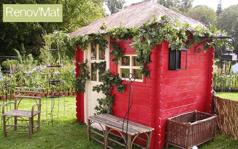 PARQUETS ET CHEMINÉES Casetta da giardino per bambini Giochi all'aria aperta Giochi e Giocattoli  |