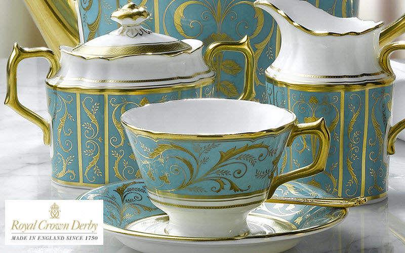 ROYAL CROWN DERBY Servizio da tè Servizi di piatti Stoviglie Sala da pranzo | Classico