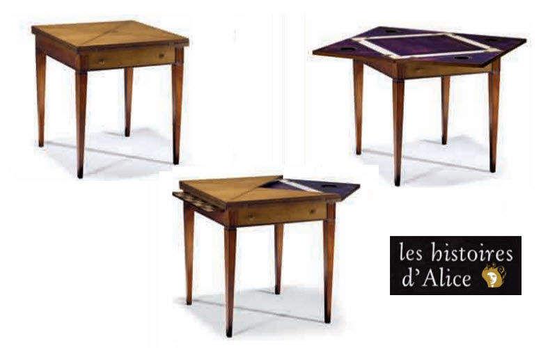 LES HISTOIRES D'ALICE Tavolo da gioco Tavolo da gioco Tavoli e Mobili Vari  |
