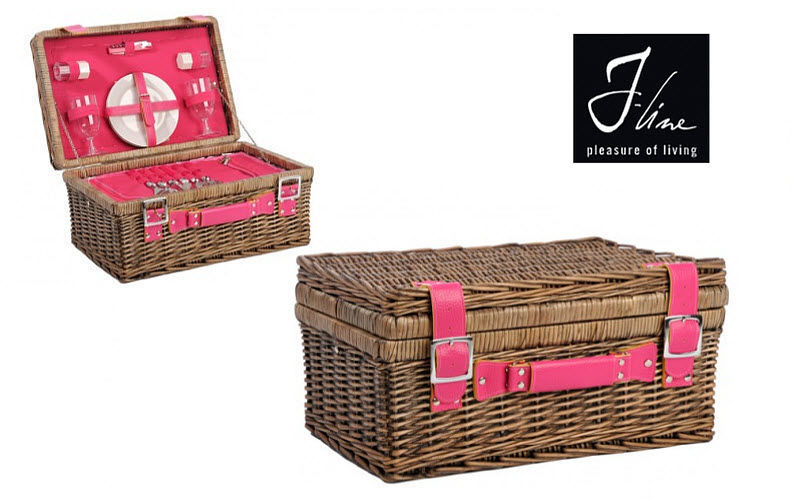 J-line Cestino da picnic Arredamento d'esterni Varie Giardino  | Charme
