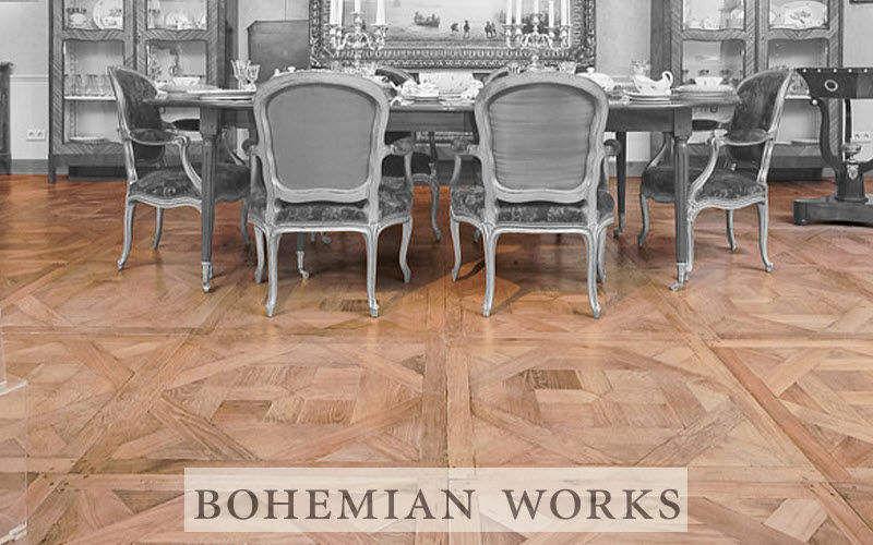 BOHEMIAN WORKS Parquet a quadri Parquet Pavimenti  |