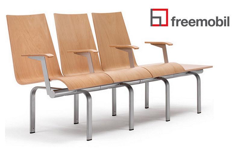 Sedie su barra per sala d attesa sedie e poltrone per ufficio