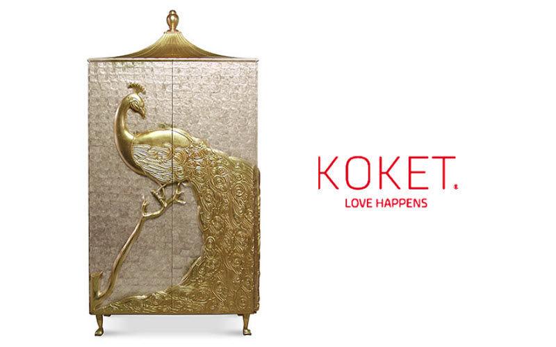 KOKET LOVE HAPPENS Mobile bar Credenze, buffet e mobili soggiorno Armadi, Cassettoni e Librerie  |