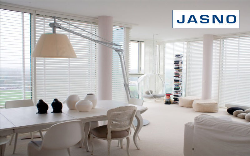 Jasno Shutters Tenda veneziana Avvolgibili Tessuti Tende Passamaneria Sala da pranzo | Charme