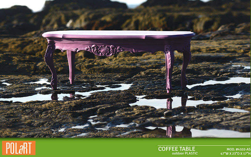 POLART Tavolo basso da giardino Tavoli da giardino Giardino Arredo  | Eclettico