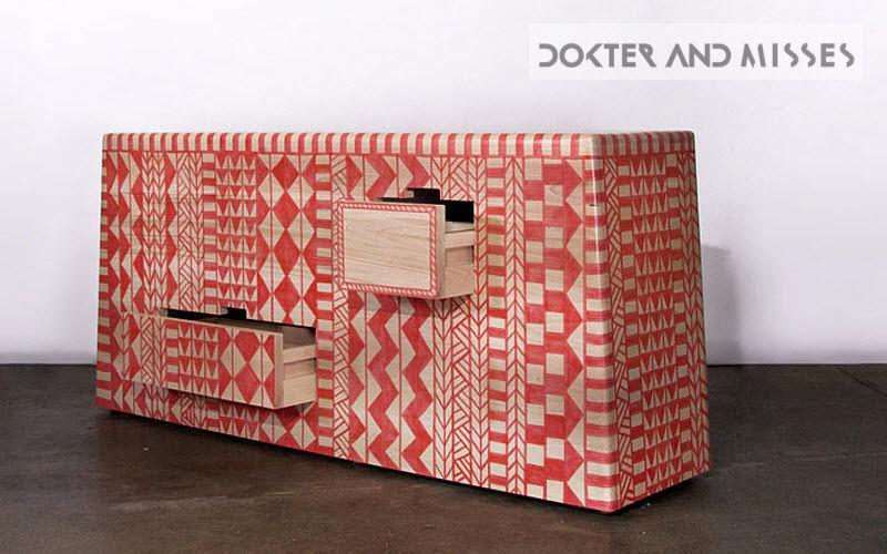 DOKTER AND MISSES Cassettiera Mobili con cassetti Armadi, Cassettoni e Librerie  | Esotico
