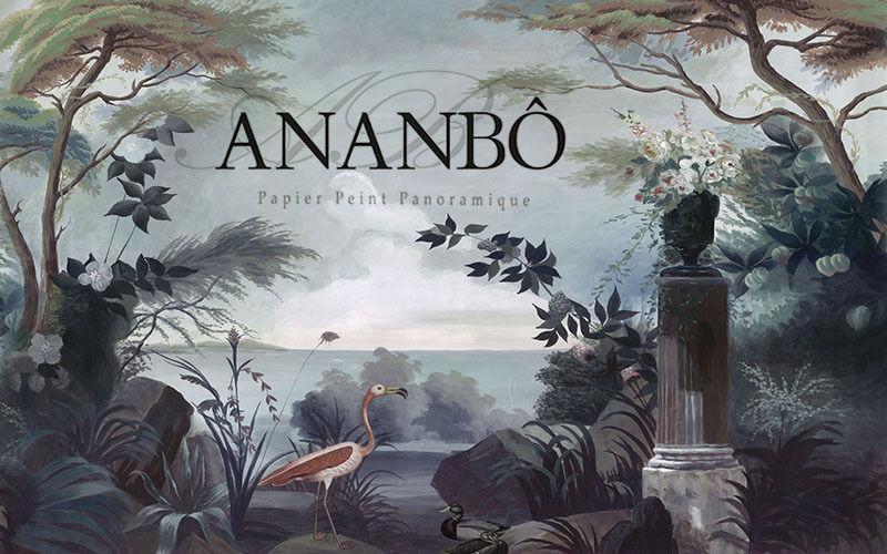 Ananbô Carta da parati panoramica Carta da parati Pareti & Soffitti  |