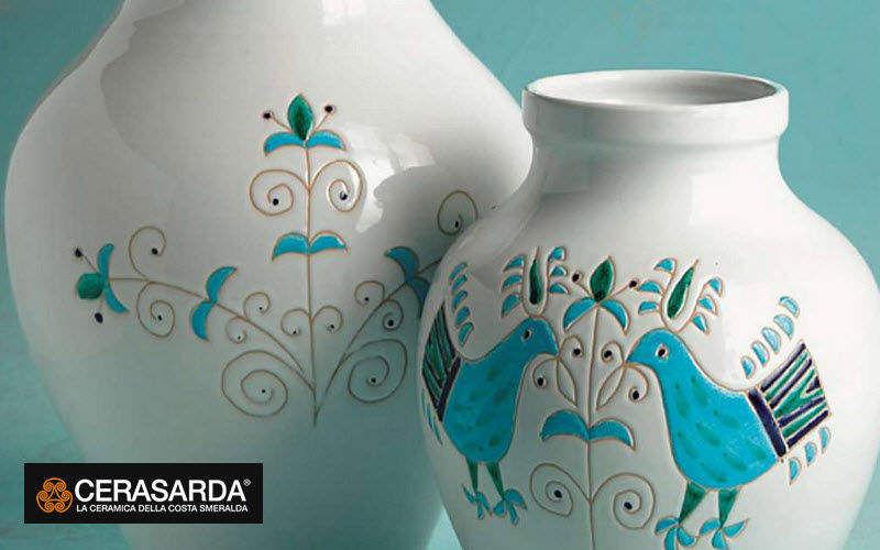 CERASARDA Vaso di porcellana Coppe e contenitori Oggetti decorativi   