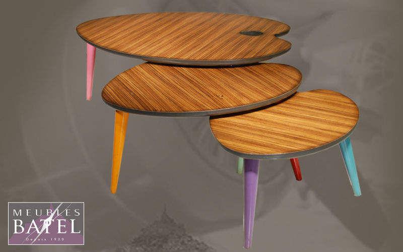 BATEL Tavolini sovrapponibili Tavolo d'appoggio Tavoli e Mobili Vari   