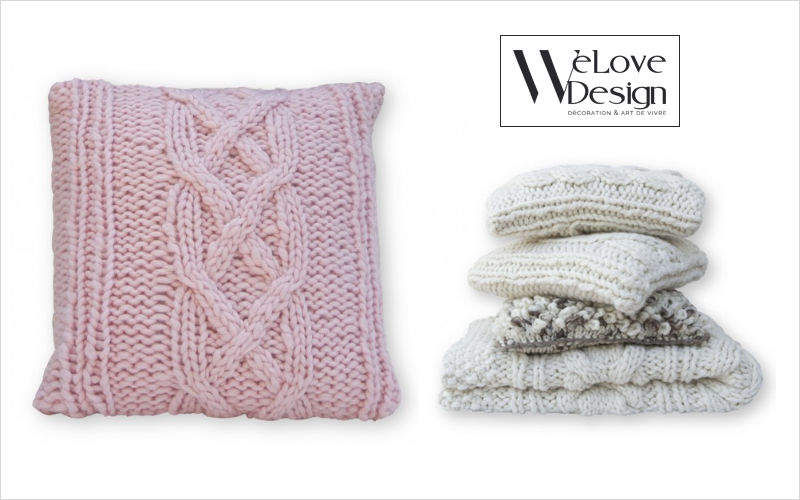 Welove design Cuscino quadrato Cuscini Guanciali Federe Biancheria   