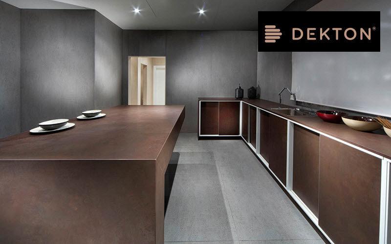 DEKTON Piano da lavoro cucina Mobili da cucina Attrezzatura della cucina  |