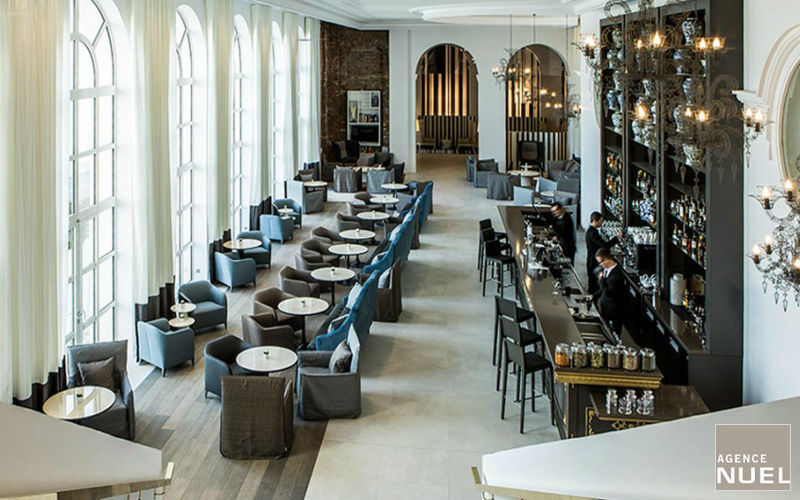 Agence Nuel / Ocre Bleu Idee: Hall d'albergo Varie sedute e divani Sedute & Divani  |