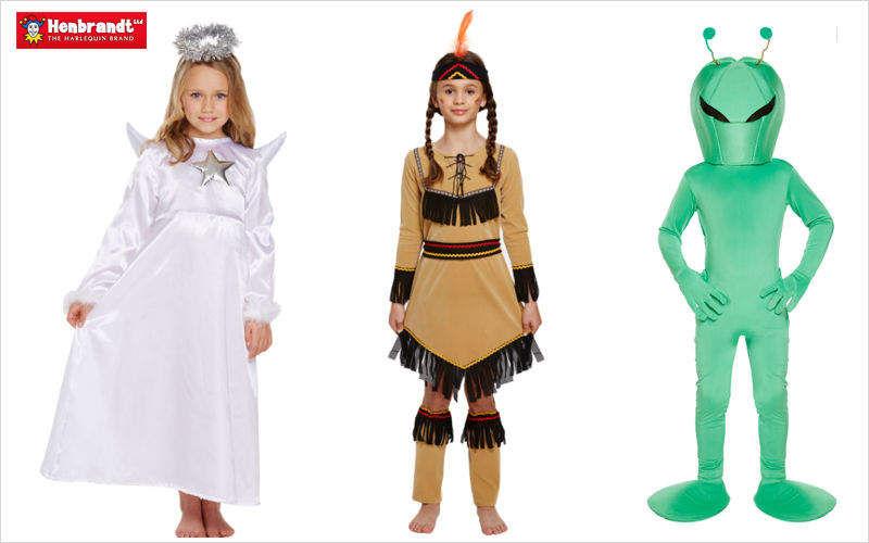 HENBRANDT Costume di Carnevale Travestimenti Giochi e Giocattoli  |