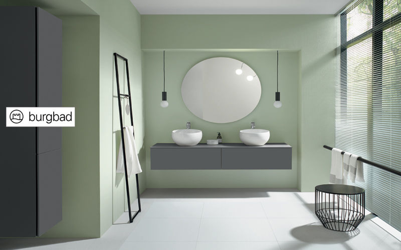 BURGBAD Mobile con doppio lavabo Mobili da bagno Bagno Sanitari   |
