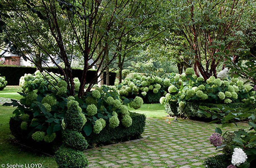 Christian Fournet Giardino all'inglese Realizzazioni giardino Varie Giardino  |