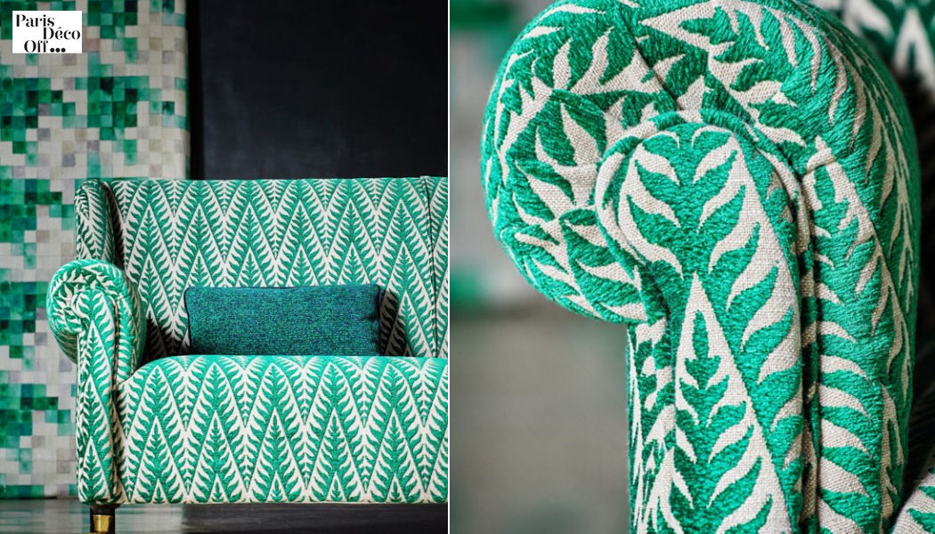 JAMES MALONE FABRICS Tessuto d'arredamento per sedie Tessuti d'arredo Tessuti Tende Passamaneria  |