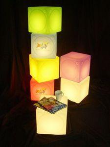 Cubetto ghiaccio luminoso