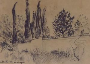 Michel Maugee Disegno a matita