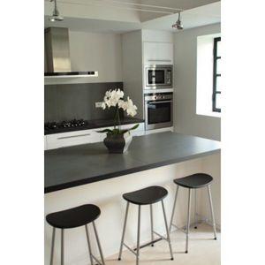 Artirec - ardoise noire - Piano Da Lavoro Cucina