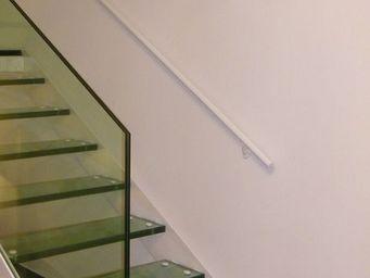 TRESCALINI - main courante ronde en acier - Corrimano