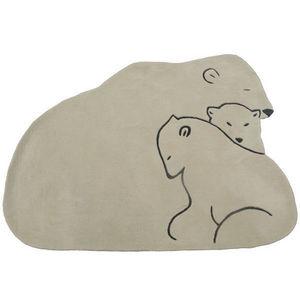 ART FOR KIDS - tapis famille ours - Tappeto Bambino