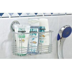 EVERLOC - support salle de bain ou cuisine ventouse - Portasapone Per Doccia