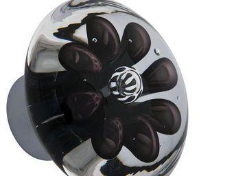 Les Verreries De Brehat - bulles de fleurs disque - Pulsante Porta