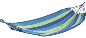 Aubry-Gaspard - hamac simple en coton et polyester océana - Amaca
