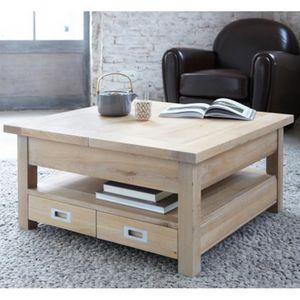 ARTI MEUBLES - table basse carrée toronto - Tavolino Quadrato