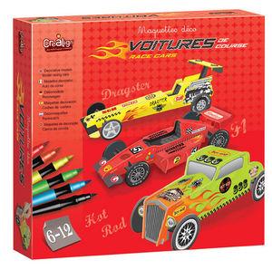 Crea Lign' - maquette déco voitures - Modellino Automobile