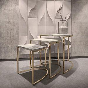 MATLIGHT Milano - nesting tables - Tavolini Sovrapponibili