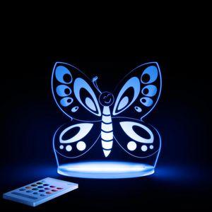 ALOKA SLEEPY LIGHTS - papillon - Luce Notturna Bambino