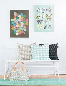 LITTLEPHANT - butterfly family  - Quadro Decorativo Bambino