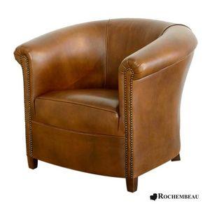 ROCHEMBEAU - fauteuil crapaud 1411192 - Poltrona Crapaud