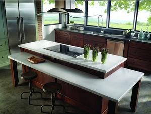 SILESTONE COSENTINO - polar cap + iron ore - Piano Da Lavoro Cucina