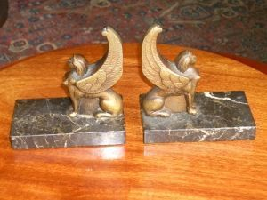 Antiquités Anne & Thierry - serres livres - Reggilibro