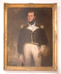 Abj Cheminees Anciennes - tableau : officier de marine - Ritratto